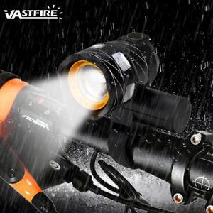 XM-L-T6-LED-Zoomable-bicicleta-de-montana-bicicleta-ciclismo-cabeza-luz-faro-AC