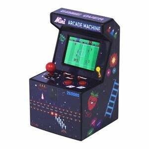 Mini Arcade Machine 80 S Desktop Retro 240 Games 16 Bit Portable