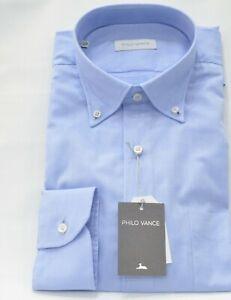 Uomo Camicia business classica manica lunga bianco 38 39 40 41 44 45