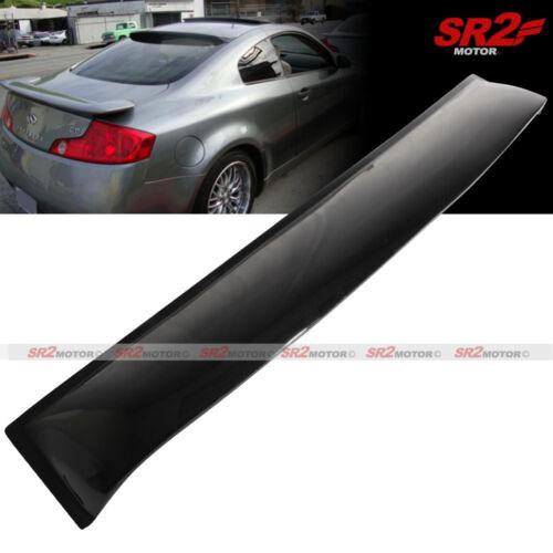 Rear Roof Window Sun Rain Shade Guard Visor Spoiler Wing fits 03-07 G35 Coupe