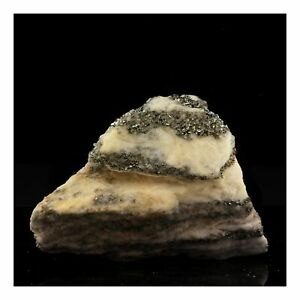 Pyrite-Dolomite-477-00-Ct-Binntal-Switzerland