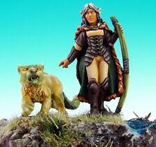 Aeris Elf Ranger Reaper Miniatures Dark Heaven Legends Ranged Cat Cougar Animal