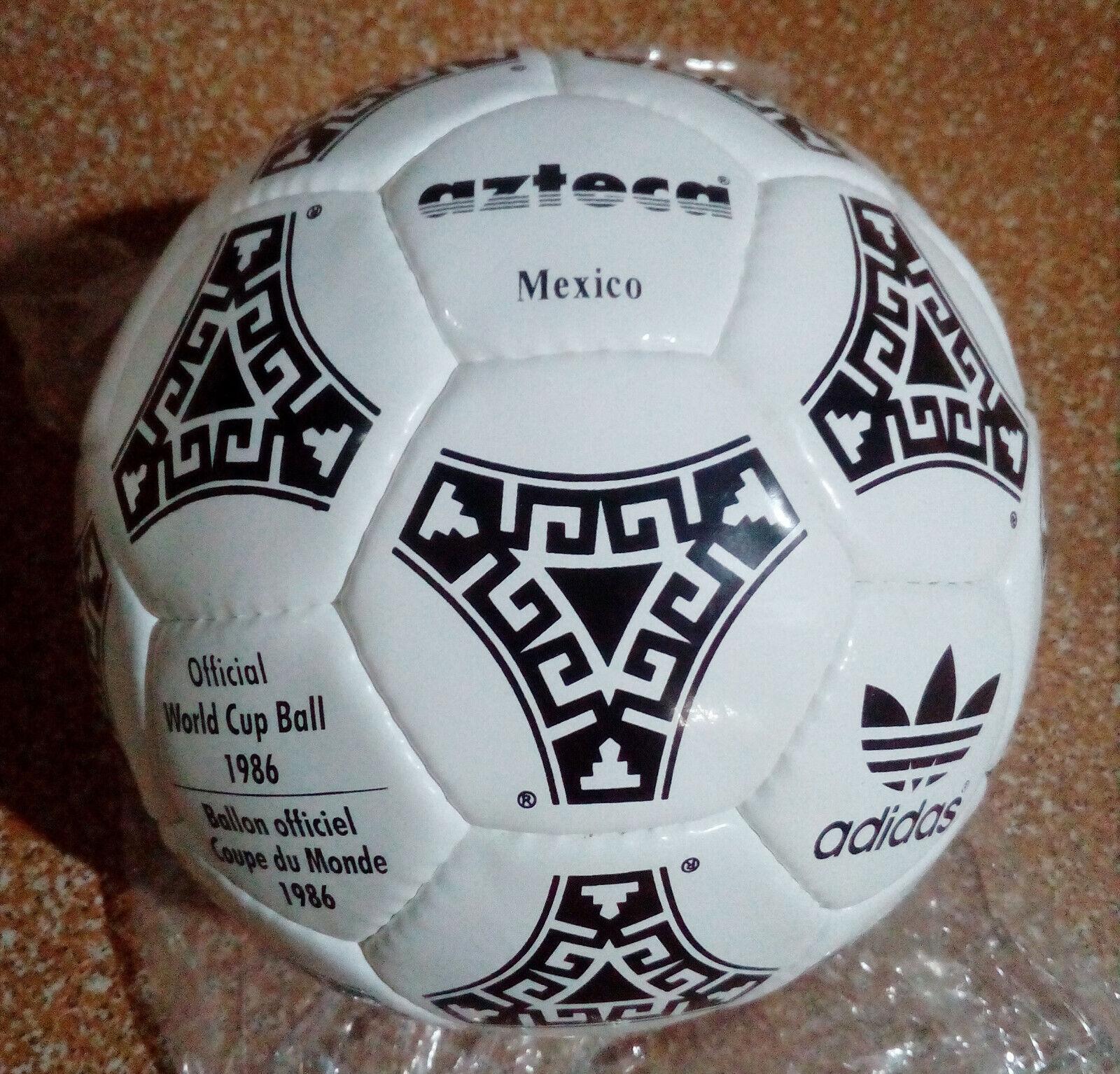 Adidas Azteca MEXICO Official Bola de Copa del Mundo 1986 Ballon oficial Coupe du Monde