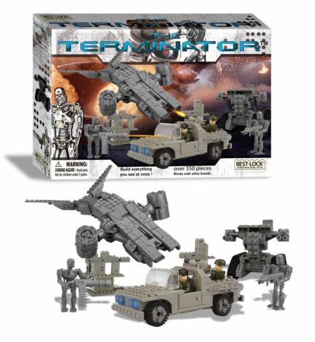 The TERMINATOR-Future Battle, riproduzione 01030t, oltre 350 pezzi!