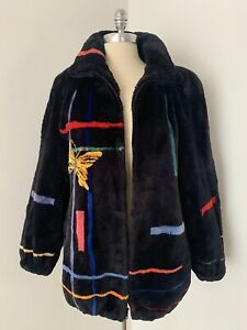 Genuine-Zuki-Butterfly-Sheared-Beaver-Fur-Teddy-Jacket-Coat