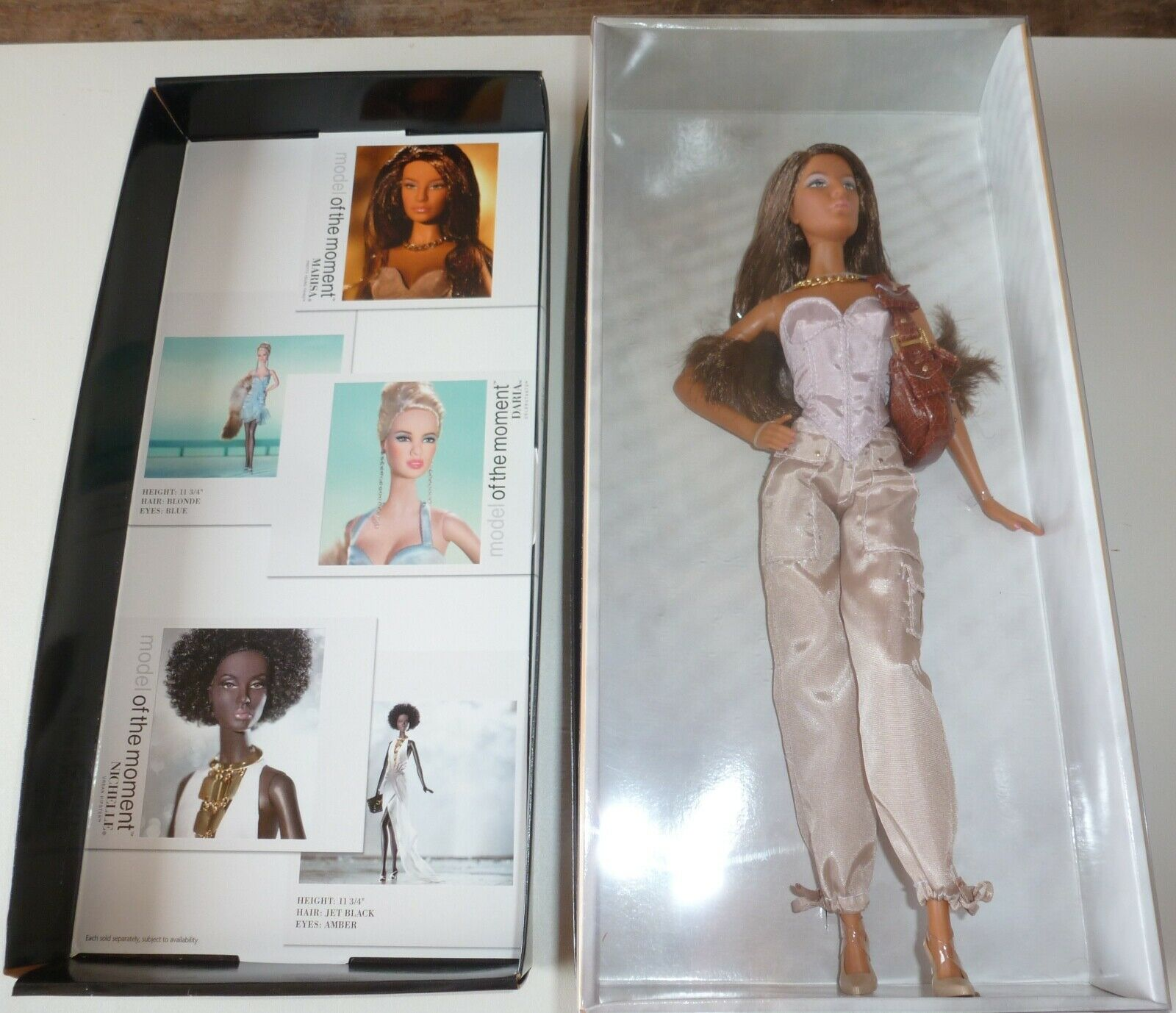 2005 Model of the Moment Barbie.   NUDE & STAND ONLY.