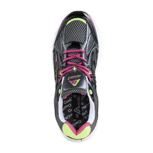 Action Activity Femmes Chaussures de Sport Baskets Course Jogging Gris