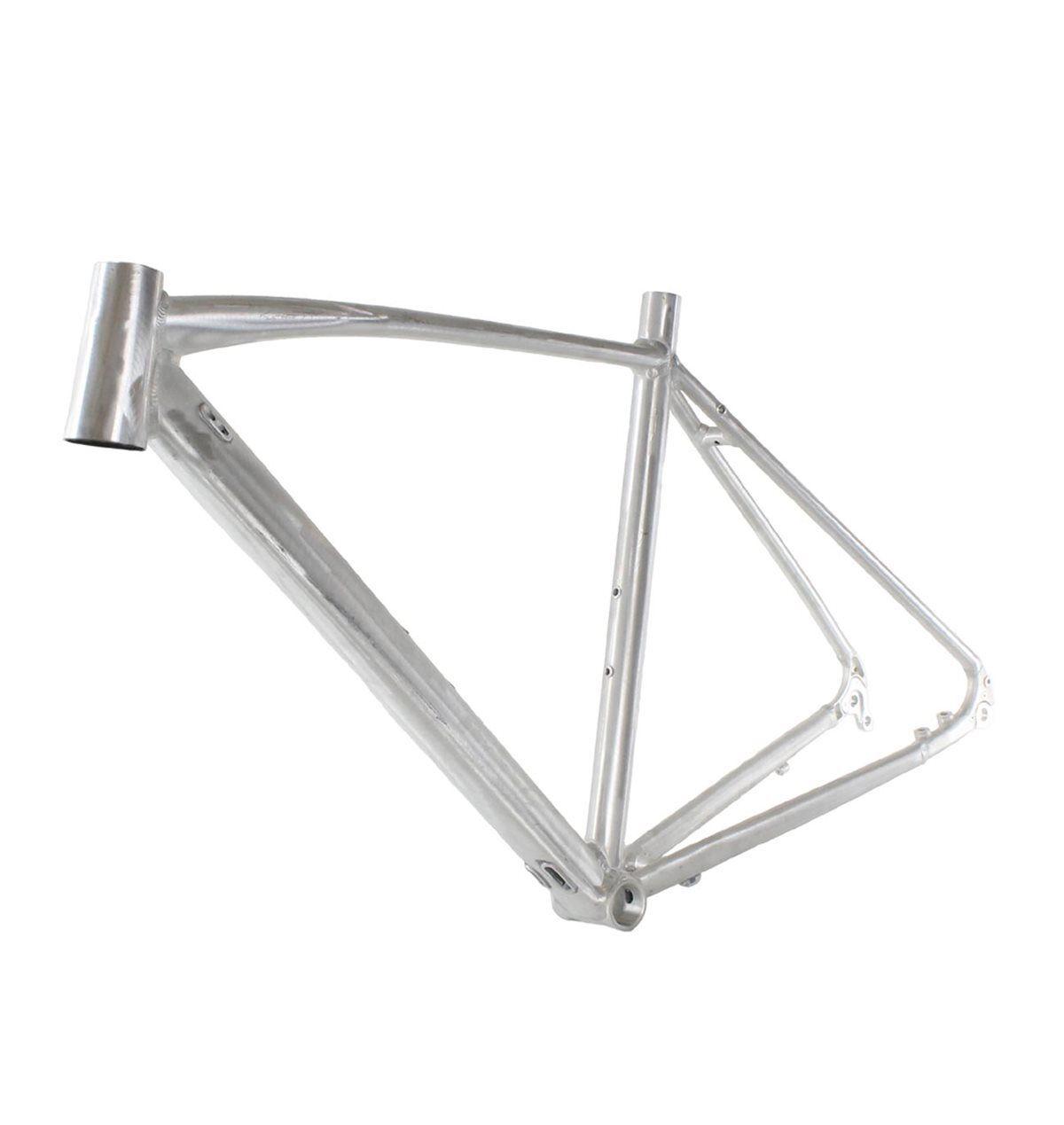 Gravel frame aluminium BSA 68mm Flat Mount disc Größe 55   XL RIDEWILL BIKE adven