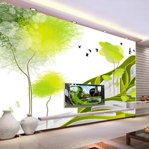 3D Adorn Green 644 Wallpaper Murals Wall Print Wallpaper Mural AJ WALL AU Kyra