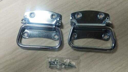 "2 Chest Handles Zinc Plated Steel 3 3//4/"""