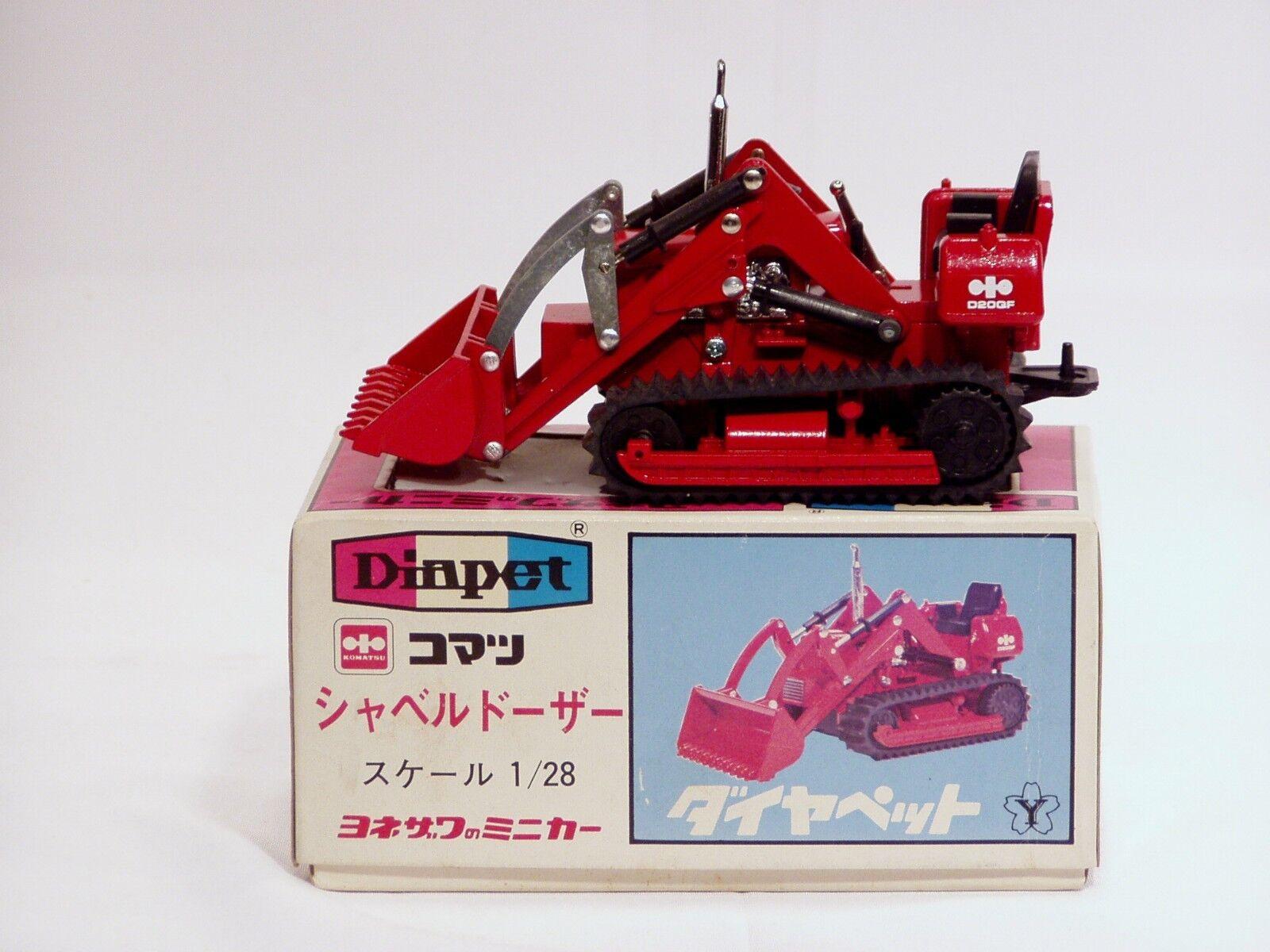 el estilo clásico Cochegador de pista Komatsu D20QF - 1 28 28 28 - DIAPET  K-31 - Nuevo  buen precio