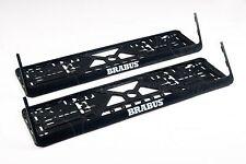 BRABUS MB License plate frames BIG LOGO E C B A S CL R GL G ML GLE GLA CLK SLK
