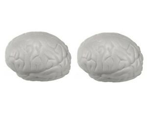 (2) Brain Stress Ball for Kids Squishy Squeeze Fidget Toy eBay