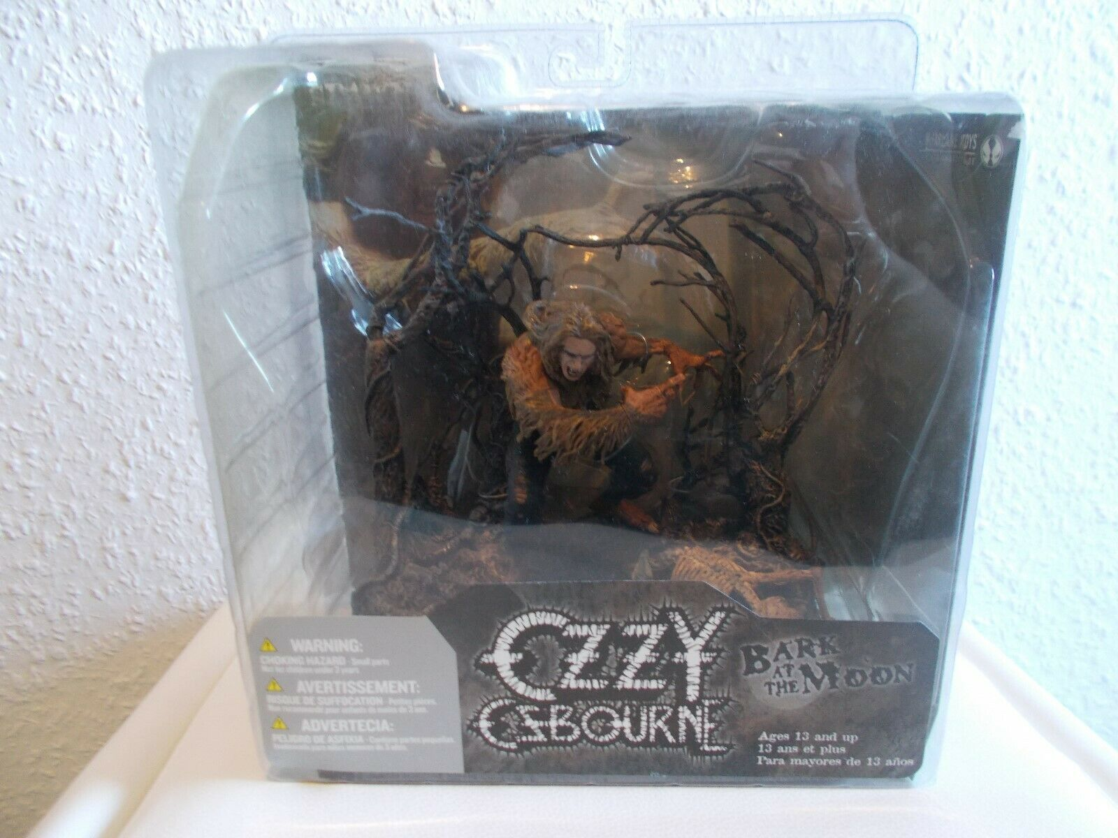 Ozzy Osbourne   Bark at the Moon Figur  - OVP