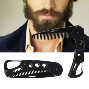 Portable-Beard-Comb-Men-Shaving-Pocket-Male-Stainless-Steel-Mustache-BrushTd