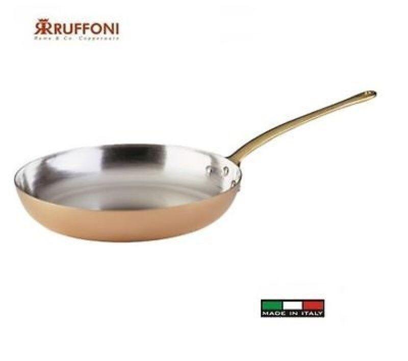 Sartén 1 Mango Ruffoni Cobre 22 Cm.