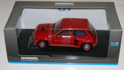 Universal Hobbies - Renault 5 Turbo Red Scale 1 18