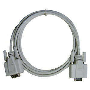 15M-45FT-9-Pin-Extension-Cable-Serial-Direct-Male-to-Female-RS232-DB9-M-F
