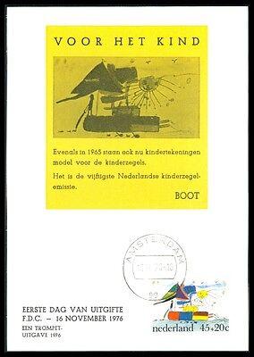 Gerade Niederlande Mk 1976 Kinderzeichnungen Schiff Boot Maximumkarte Mc Bb80 Kataloge Werden Auf Anfrage Verschickt