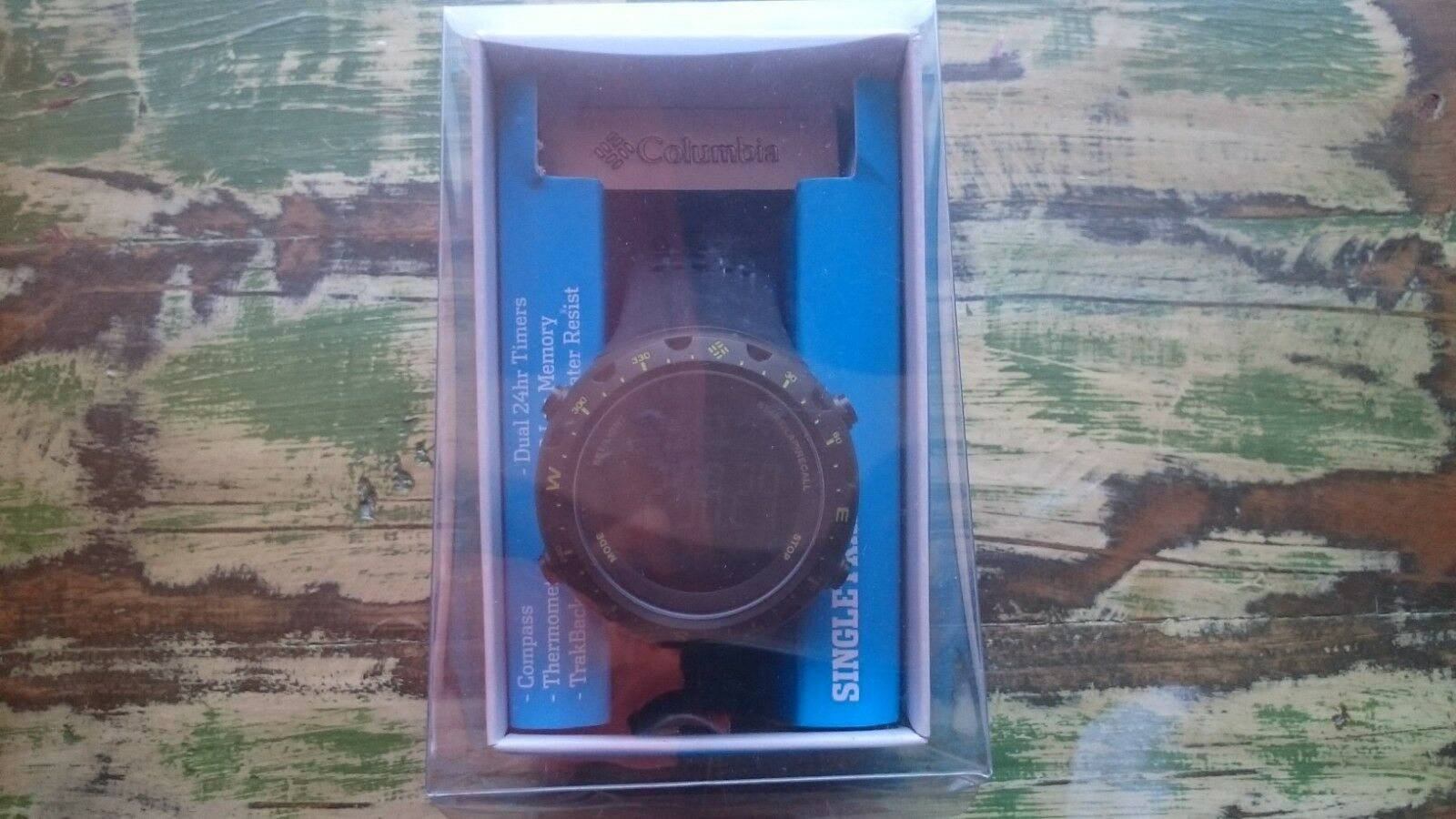 Columbia SINGLETRAK™ DIGITAL WATCH   Altimeter  Barometer   Compass Rarität  ABC