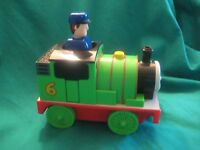 Thomas the Tank Engine-Thomas and Friends-Push and Go Toy Train-Percy #6