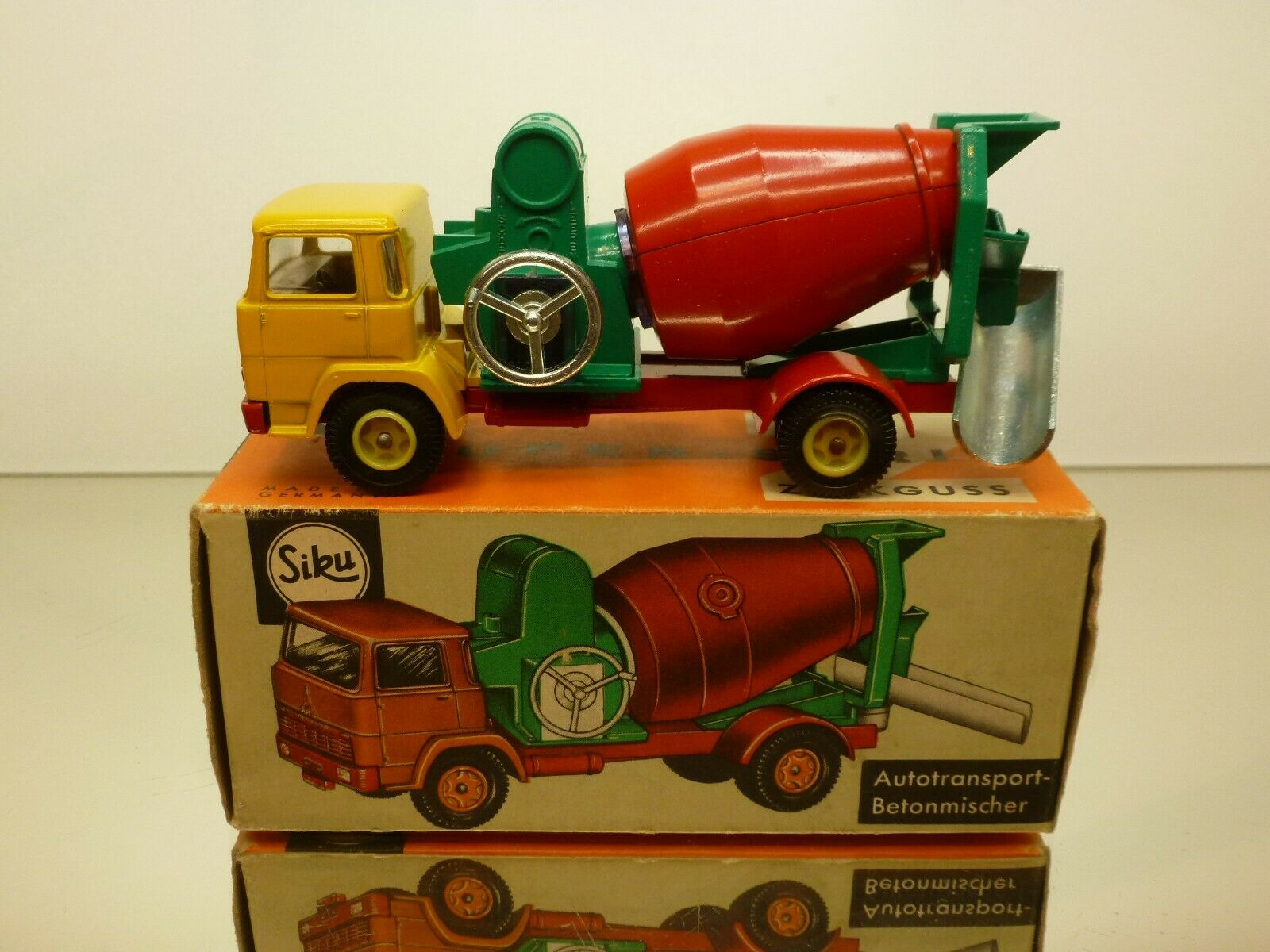 SIKU 291 DEUTZ TRUCK CONCRETE MIXER BETONMISCHER - RARE - EXCELLENT IN BOX