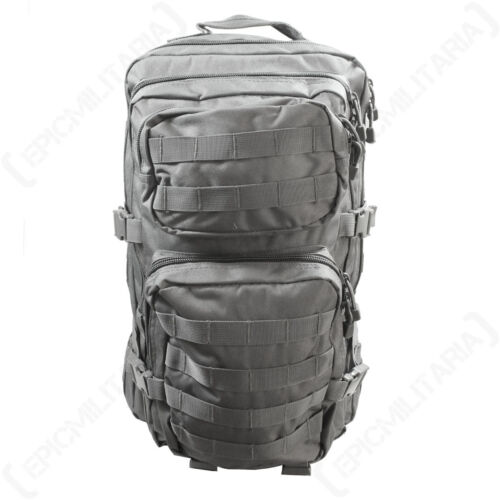 Urban Grey MOLLE Assault Pack Large Size Rucksack Backpack Bag Military New