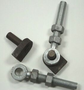Gate Hinge Pins With Eye Bolts Weld On 3 4 Quot X 6 Quot 19 Mm X