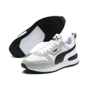 Puma R78 Jr Unisex Damen Kinder Sneaker Low Top Turnschuhe 373616 Weiß