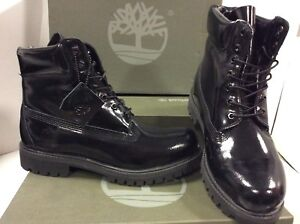 0c9963a39095cb Image is loading Timberland-TB0A174F-6-inch-Waterproof-Shiny-Men-039-