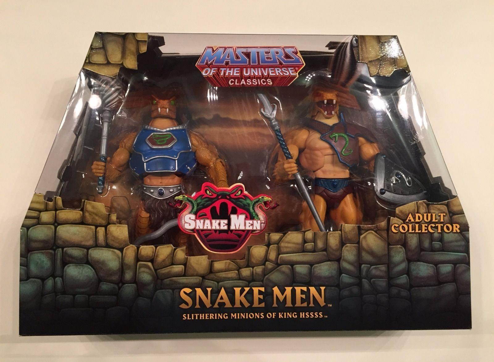 MOTU Classics Snake Snake Snake Men 2 pack NEW 3e0