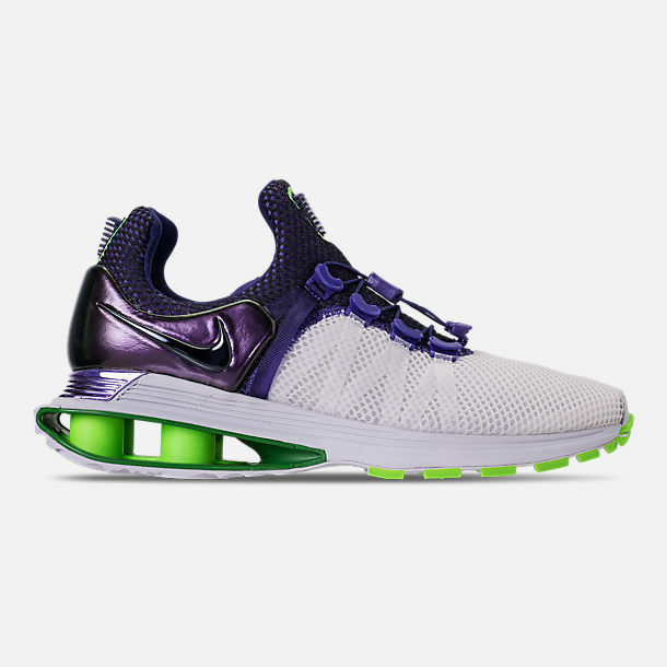 Femme NIKE SHOX GRAVITY Blanc/FUSION VIOLET RUNNING Chaussures SELECT YOUR Taille