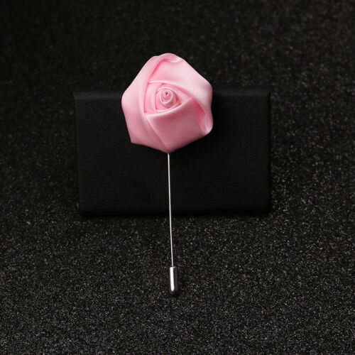 8pcs Men/'s Lapel Pin Set with Handmade Flower Boutonniere For Suit