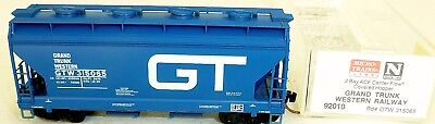 And Great Variety Of Designs And Colors Micro-trains Linea 92010 2bay Acf Centerflow Grand Trunk Oeste 65 N 1:160 X Å Famous For High Quality Raw Materials Full Range Of Specifications And Sizes