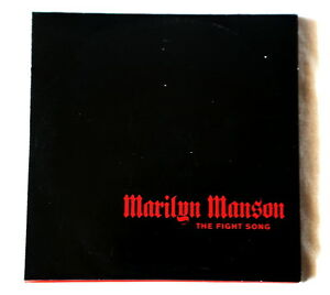 Marilyn-Manson-The-Fight-Song-Promo-CD-single-1-track-FIGHT1-Dark-Glam-Gothic