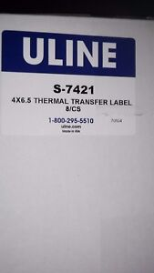 Desktop Thermal Transfer Labels - 4 x 6 1⁄2