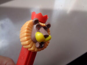Mint Pez Circus Lion with crown, nice guy