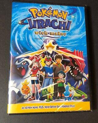 Pokemon Movie Jirachi Wish Maker Dvd New 65935204084 Ebay
