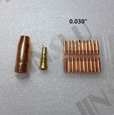 """0.030"""" Contact Tip 20PK 130EN 180EN Clarke Mig Torch Welding Gun Stinger Welder"""