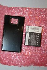 CAMERON SINO Batterie 2600mAh Samsung Galaxy S II Galaxy S2 GT-I9100 Capot Noir