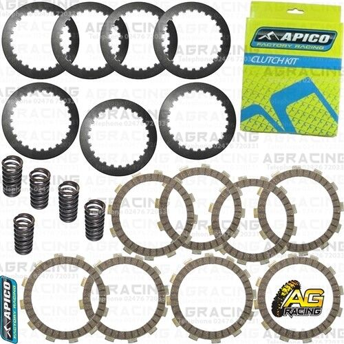 Apico Clutch Kit Friction Steel Plates /& Springs For Honda CRF 250X 2018