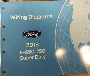 ford f750 wiring schematic 2018 ford f650 f750 wiring manual ebay 2015 ford f750 wiring diagram 2018 ford f650 f750 wiring manual ebay