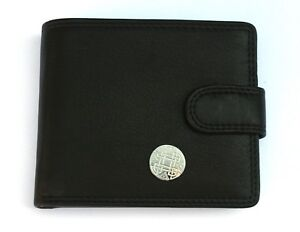 100% QualitäT Celtic Knot Mens Leather Wallet Black Or Brown Spiritual Gift 68 Direktverkaufspreis