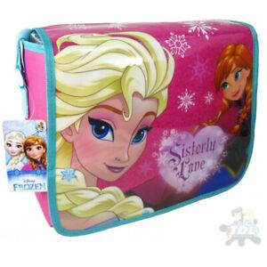 Bambini-Disney-Frozen-II-Anna-Elsa-Tracolla-Messenger-Scuola-Borsa-1706HV