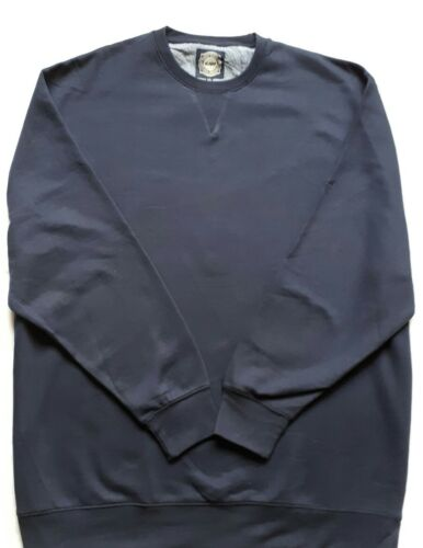 Nouveau KAM Bleu marine Sweat 3XL /& 4XL
