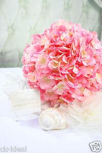 Hortensie Rosa Kugel Ball Ca 28cm Super Edel Fur Hochzeit