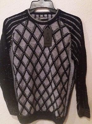 Herrenmode Trendmarkierung Pullover S Schwarz Weiss Modell 6218019 Blackrock Gemütlich Kleidung & Accessoires