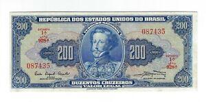 200-Cruzeiros-Bresil-1961-c041-p-171a-Brazil-billet