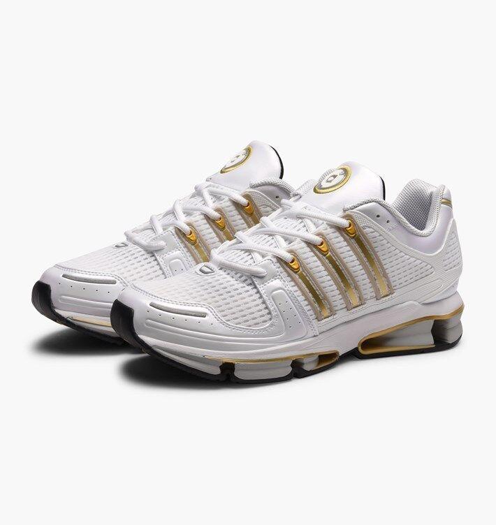 Adidas A3 Twinstrike - Men's Size 5 - Women's Size 6.5 - White/Gold - BA7234