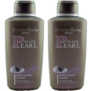 Bettina-Barty-BLACK-PEARL-2-x-Hand-amp-Body-Lotion-je-500-ml-TOP
